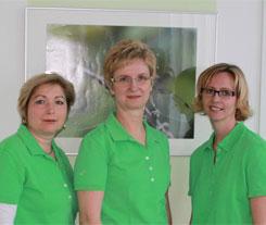 Ihr Zahnarztteam von Dipl. Stom. Christiane Weber